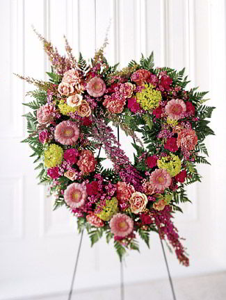 Randolph Florist | Heather Heart